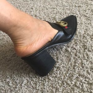 Shoes - Mules  heel RE-SALE:i bought at *Poshmark(JAN/18)